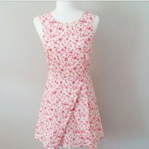 Beautiful Forever 21 Pink and White Floral Dress.